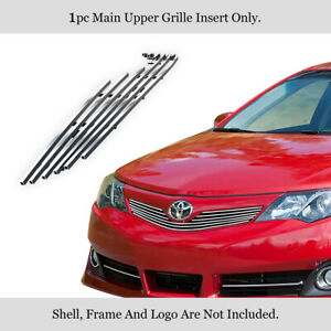For 2012 2014 Toyota Camry Se Stainless Steel Billet Grille Grill Insert