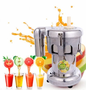 110v 750w Commercial Fruit And Vegetable Extractor Juicer Us Free Shipping