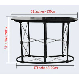 Business Trade Show Exhibit Counter Frame Portable Table Display Promotions