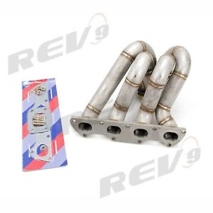 Rev9 Hp Series Civic B16 B18 Integra Top Mount Equal Length Turbo Manifold 44mm