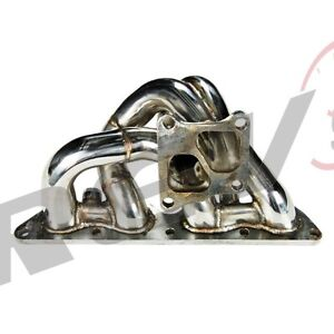Rev9 01 07 Evo 7 8 9 4g63 Ct9a Equal Length Turbo Exhaust Manifold Stainless
