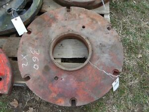 Tractor Back Wheel Weights x2 100lbs Each Tag 360 Dk