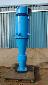 Cyclone Dust Collector Separator Model He24 steel New Mac Process Systems