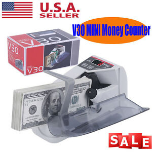 Mini Portable Handy Cash Bill Money Currency Counter Machine Speed 600pcs min Oy