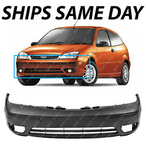 New Primered Front Bumper Replacement Fascia For 2005 2006 2007 Ford Focus 05 07