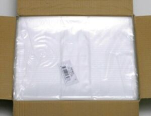 1000 Per Case Clear Tuf r 1mil Lay Flat Fda Open Top End Plastic 1 Mil Poly Bag