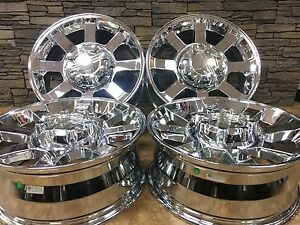 20 Ford F250 F350 Chrome Replica Super Duty Chrome Wheels Rims 3693 Set Of 4