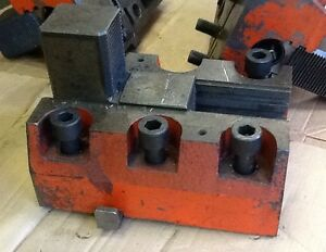 Set Of 4 Heavy Duty Vertical Boring Mill Jaws