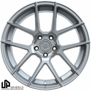 19 5x114 3 5x114 Wheels Set Staggered Silver Et35 40 350z Camry G35 Maserati