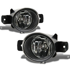 For 2007 2008 2009 Nissan Sentra Clear Lens Fog Lights Pair W Wiring