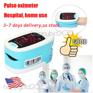Handheld Pulse Oximeter Cms60d Fingertip Colour Display Spo2 usa Stock