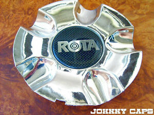 Rota Custom Wheels Chrome Wheel Center Cap Caps 1