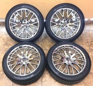 19 19 Inch Staggered Ford Mustang Svt Cobra Wheels Rims Tires 3865 Set Of 4