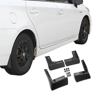Fit Toyota Prius Mud Flaps 10 15 Guards Splash Molded 4pc Front Rear 00016 47225