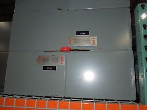 Eaton cutler Hammer Eeswr360200tb2 200a 3ph 600v Fusible Panelboard Switch Recon