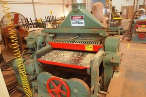 Whitney Son Model 29a 36 25hp Single Sided Planer woodworking Machinery
