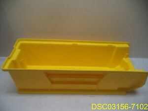 Qty 4 Quantim Storage Bins Qus 950 Yellow