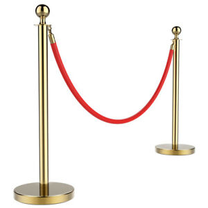 Crowd Control Barrier Stanchion Post Pole Queue Line Barrier Retractable Belt