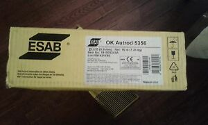 Esab Ok Autrod 5356 Aluminum Wire 035 X16lb Spool 1815092243a rb1431185 no Tax