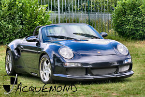 Jacquemond Wide Body Set For Porsche 986 Boxster Strosek Style Made In France