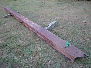 10 Wide X 25 6 Long Steel Channel Iron Beam