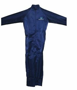 Ppg Blue Medium Anti Static Breathable Auto Painting Coveralls Spray Suit