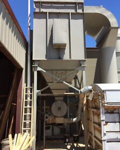 Torit donaldson 160hpt 50hp 20 000cfm Dust Collector woodworking Machinery