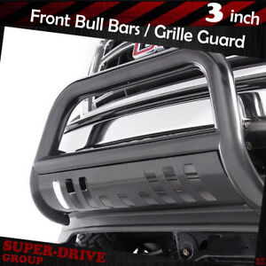 Black Front Bumper Bull Bar For 2015 2018 Chevy Colorado Brush Push Grille Guard
