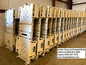 5 Used Refurbished Stryker Secure 2 Hospital Beds Package Deal