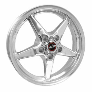 Race Star 92 Drag 17x4 50 5x4 75 25 4 Off Polished Wheel Rim Mustang Challenger