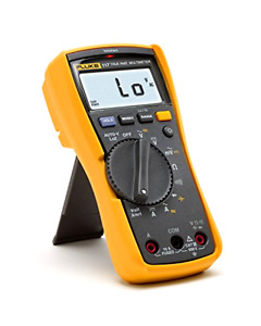Compact Fluke Electricians True Rms Multimeter Tester Led White Backlight New