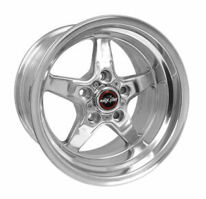 Race Star 92 Drag 15x10 5x4 50 19 Offset Polished Wheel Rim Mustang Challenger