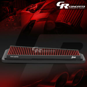 Red Washable High Flow Air Filter For 05 15 Toyota Tacoma 03 09 4runner 4l V6