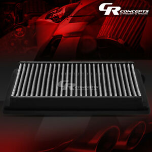 Silver Washable High Flow Air Filter For 99 06 Bmw 323 325 328 330 I ci 04 06 M3