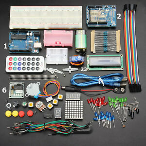 Geekcreit Uno Basic Starter Learning Kit Upgrade Version For Arduino 37 Items