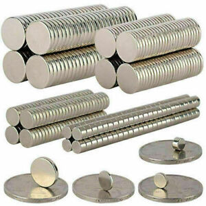 5 100pcs Super Strong Round Disc 10x1mm 10x2mm Magnets Rare earth Neodymium N35
