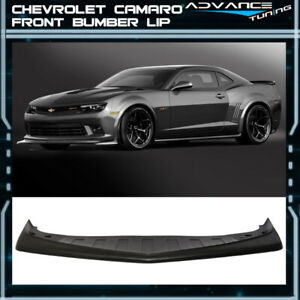 For 14 15 Chevy Camaro Z28 Style Front Bumper Lip Spoiler Urethane