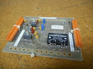Oden Es00076 Control Board With Opto 22 Dc60mp Solid State Relay Used