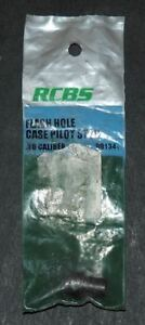 RCBS Flash Hole Deburring Tool Case Pilot Stop-(88134) 36 Cal NIP