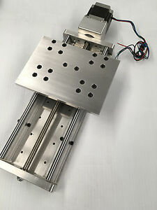 Cnc Z Axis Slide 8 Travel Anti backlash And Supported Linear Bearings Rails
