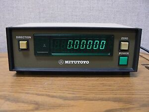 Mitutoyo Model Arc 2705 Digital X Axis Readout Code No 164 766