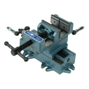 Wilton Cross Slide Drill Press Vise 5 In Jaw Width Wmh11695 New