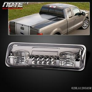 Smoke Led Third 3rd Brake Tail Light Lamp For 04 08 Ford F 150 Pickup Truck