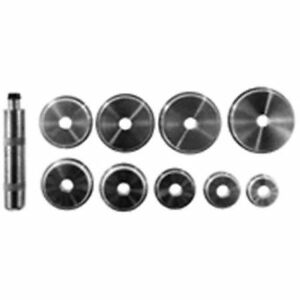 Lisle Tool 12980 Bearing Race And Seal Driver Set Of 9