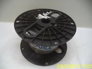 Spool Of Omnicable Black Jacketed Wire