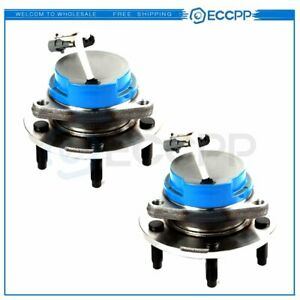 2 Pcs Rear New Wheel Hub And Bearing Assembly For 02 07 Buick Rendezvous W Abs