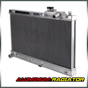 Aluminum Core Engine Cooling Radiator Fit For 1990 1997 91 92 Mazda Miata Mx5