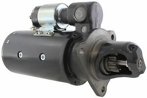 New Usa Built Starter For Case Tractors 12 Volt 12 Tooth 1113665 A47468 A21281