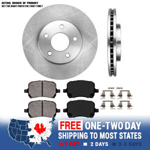 Front Oe Brake Rotors And Ceramic Pads 2006 2007 2008 2009 2010 2011 Chevy Hhr