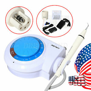 Usa dental Ultrasonic Piezo Scaler E2 With Tips Handpiece Fit For Ems woodpecker